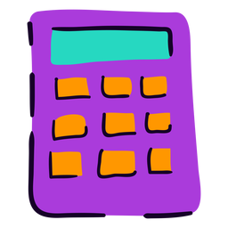 School calculator flat