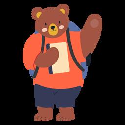 Estudando personagem urso