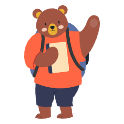 Studying bear character