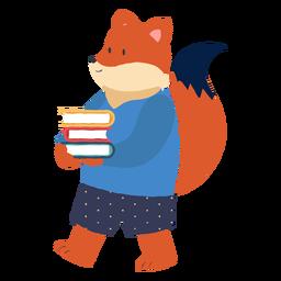 Estudiando el personaje del zorro
