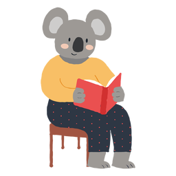 Estudiar el personaje de koala