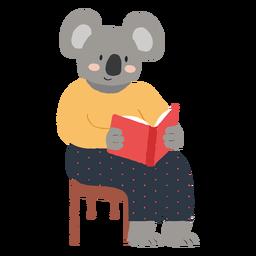 Studying koala character