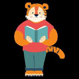 Estudando o personagem tigre