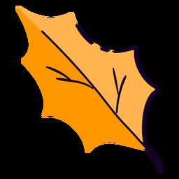 Tree leaf flat