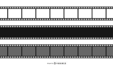 Film Negative Design Set