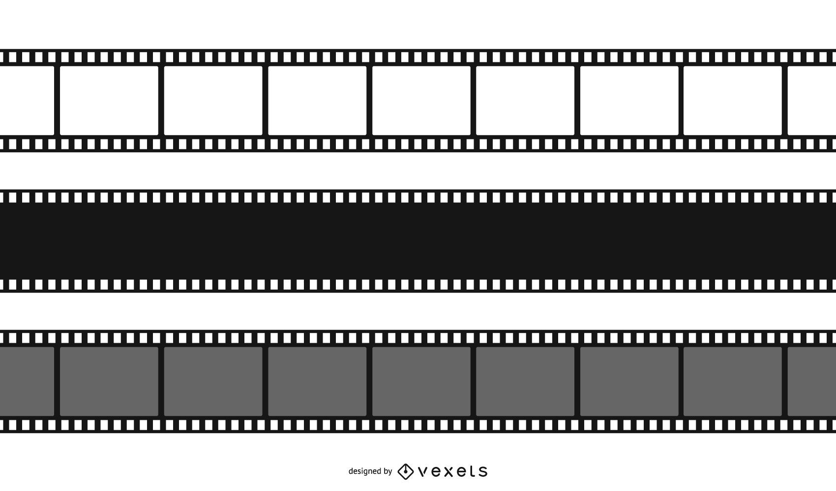 Film Negative Design Set