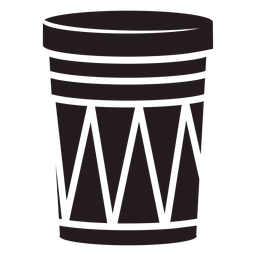 Aboriginal drum instrument black