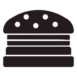Hamburguesa americana negra
