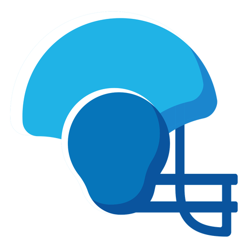 American football helmet flat icon football Transparent PNG