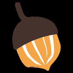 Desenho de bolota de outono