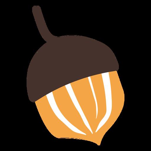Autumn acorn cartoon