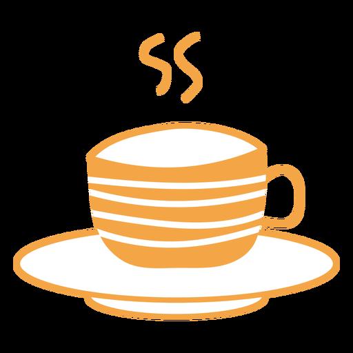 Autumn tea cup cartoon Transparent PNG