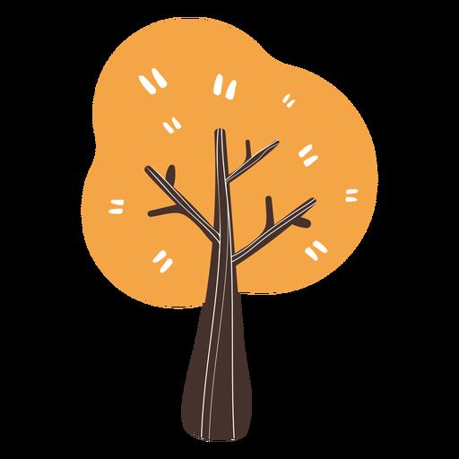 Autumn tree cartoon Transparent PNG