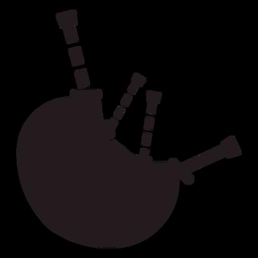 Gaita instrumento musical negro Transparent PNG
