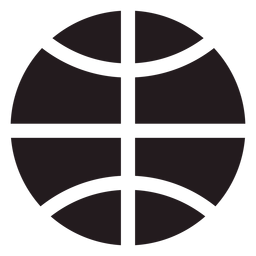 Basketball ball black