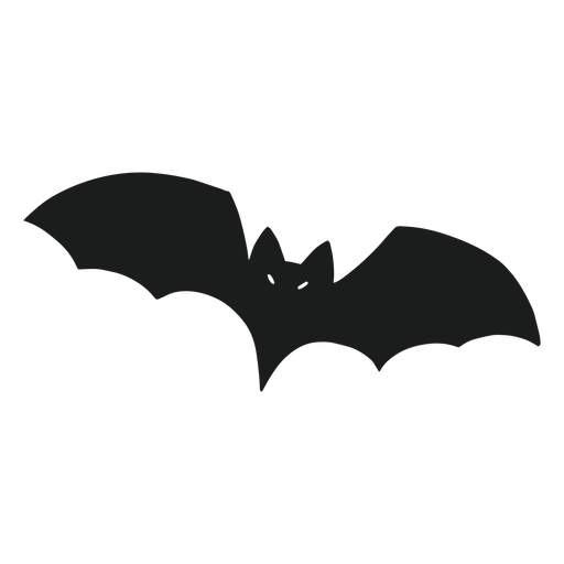 Bat flying silhouette Transparent PNG
