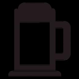 Beer stein black