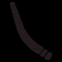 Boomerang viaje negro