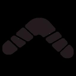 Boomerang arma negro