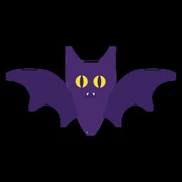 Cute little bat flat halloween