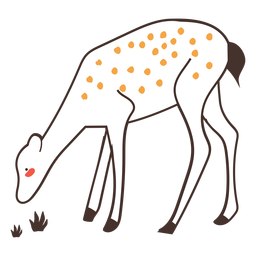 Ciervos animales dibujos animados ciervos