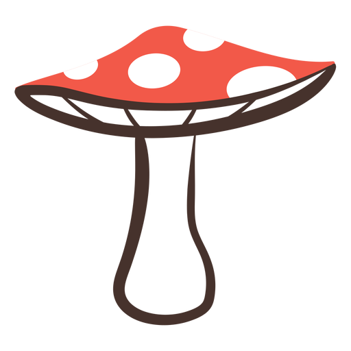 Forest mushroom icon Transparent PNG