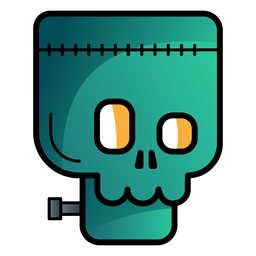 Frankenstein avatar cartoon icon