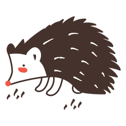 Hedgehog animal cartoon hedgehog