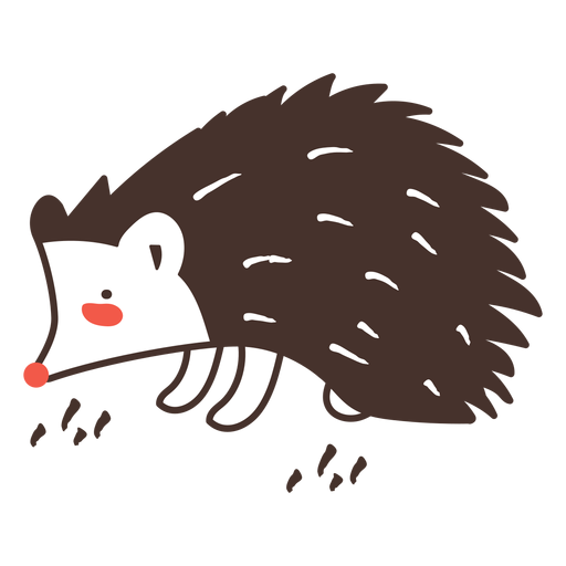 Erizo animal de dibujos animados erizo Transparent PNG