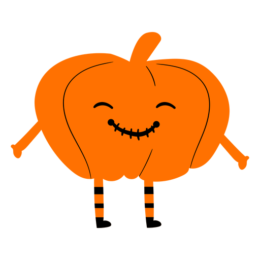 Kid wearing pumpkin costume illustration Transparent PNG