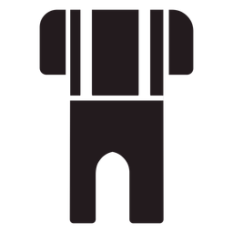Lederhosen traditional clothing black