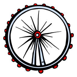 London eye ferris wheel silhouette uk elements