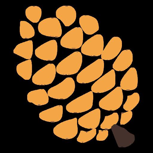 Icono de cono de pino Transparent PNG
