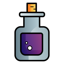 Potion cartoon icon