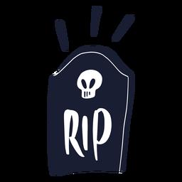 Rip gravestone silhouette gravestone