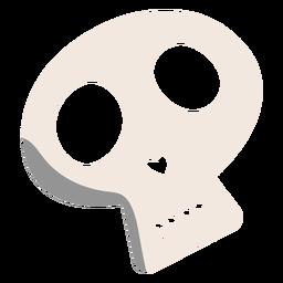 Skull flat illustration