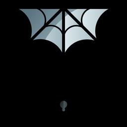 Aranha e web ícone dos desenhos animados