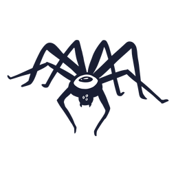 Spider monster silhouette