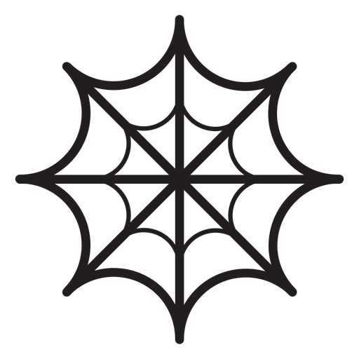 Spider web line icon