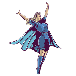 Chica superhéroe