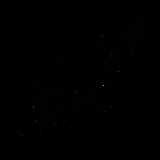 Cisne abrindo asas elegantes em preto