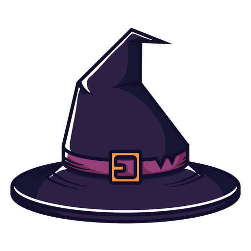 Witch Hat Front View Cartoon Transparent Png Svg Vector File