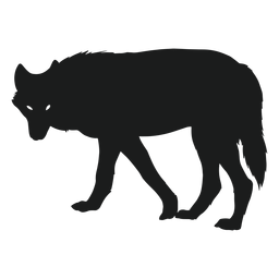 Silueta de lobo