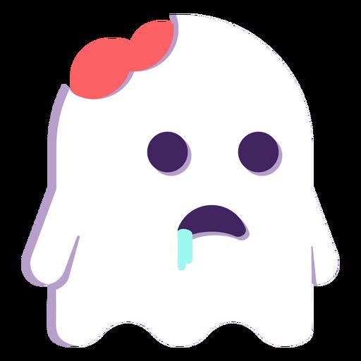 Zumbi fantasma plana dia das bruxas