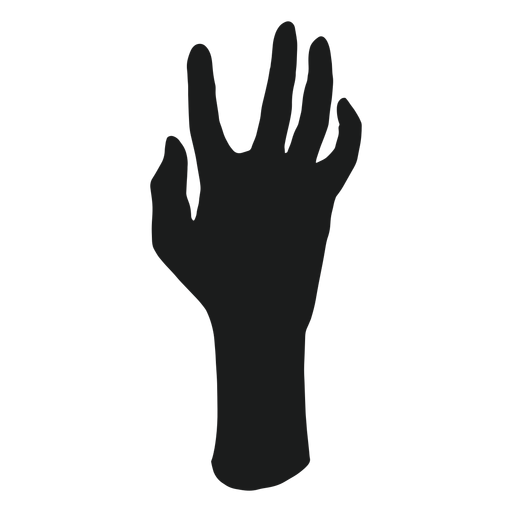 Zombie Hand Silhouette Png - Hacker4u and is about arm ...