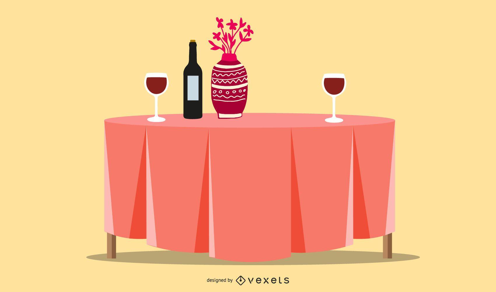 Dining Table Restaurant Design