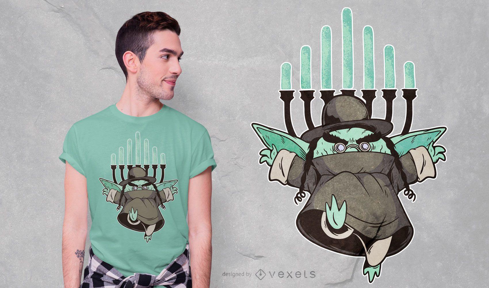 Rabbi Goblin T-shirt Design