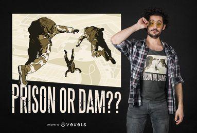 Design de t-shirt de citações de Battle Royale