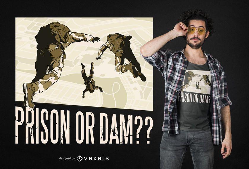 Battle Royale Quote T-shirt Design