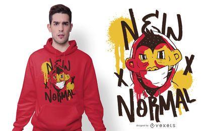Nuevo diseño de camiseta de personaje normal
